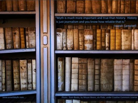 Joseph Campbell myth history books